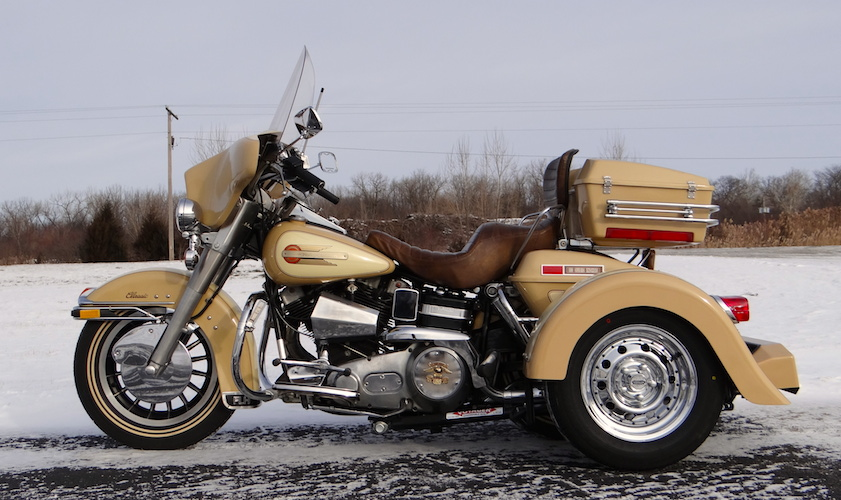 1979 H-D FLH 1200 - Voyager Custom Motorcycle Trike Kit