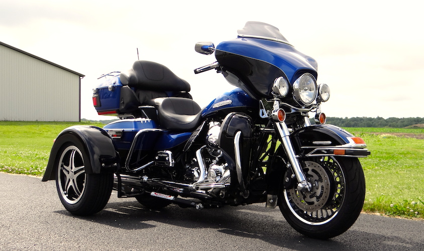 H-D Classic - Voyager Custom Motorcycle Trike Kit