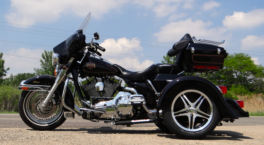 H-D Dresser - Voyager Classic Motorcycle Trike Kit
