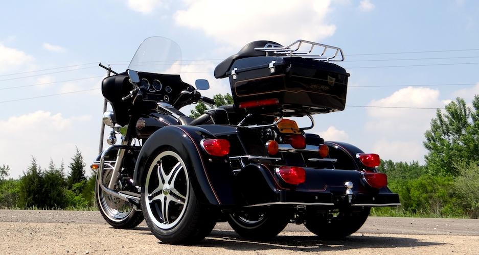 H-D Dresser - Voyager Classic Motorcycle Trike Kit