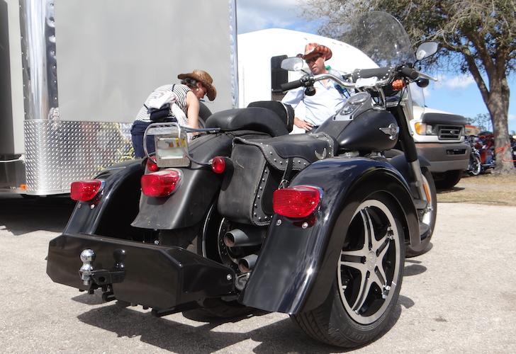 Harley-Davidson Fatboy - Voyager Custom Motorcycle Trike Kit