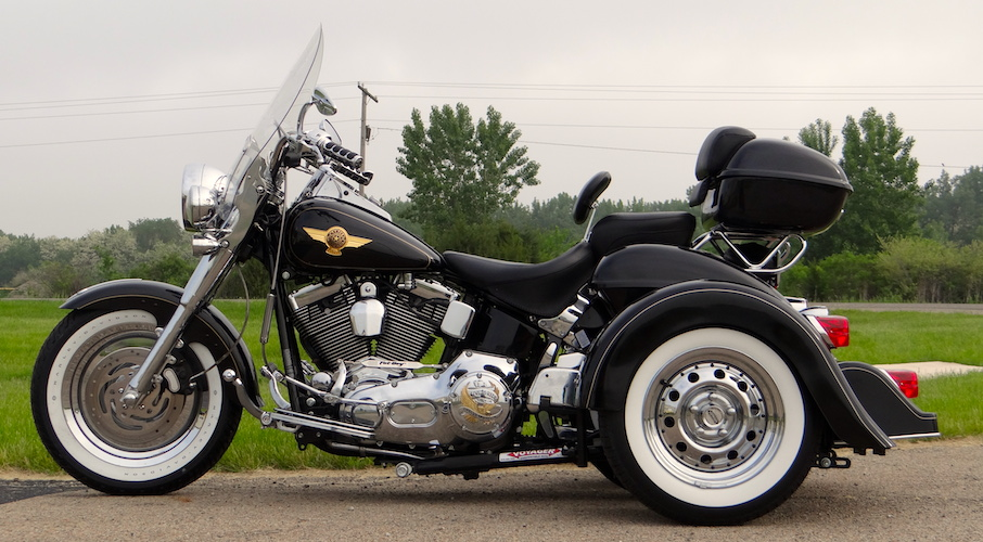 H-D Fatboy - Voyager Classic Motorcycle Trike Kit