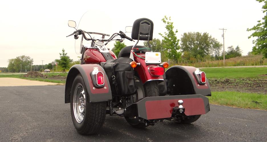Harley-Davidson Fatboy - Voyager Standard Motorcycle Trike Kit