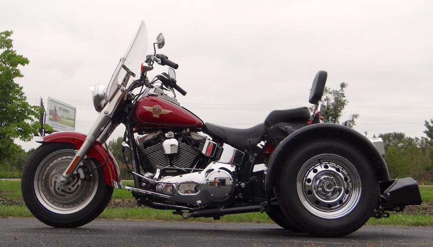 H-D Fatboy - Voyager Standard Motorcycle Trike Kit