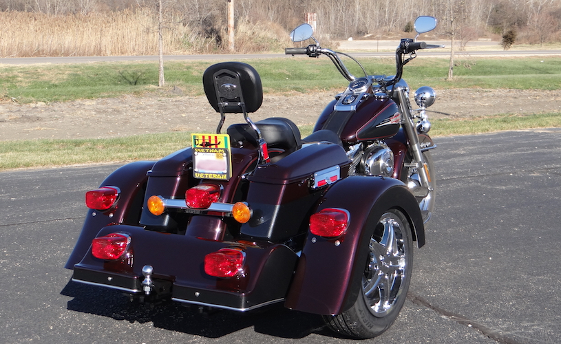 Harley-Davidson Heritage Softail - Voyager Classic Motorcycle Trike Kit