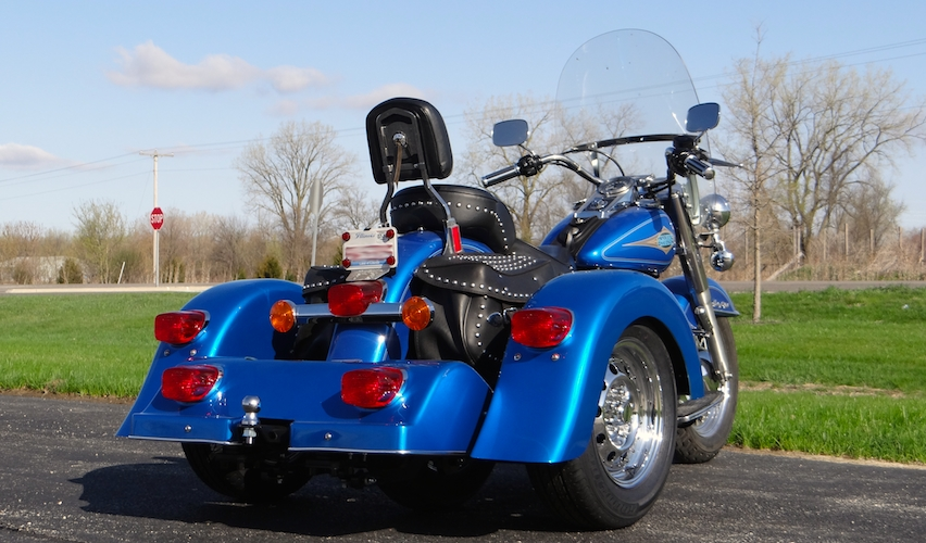 H-D Heritage Softail - Voyager Classic Motorcycle Trike Kit