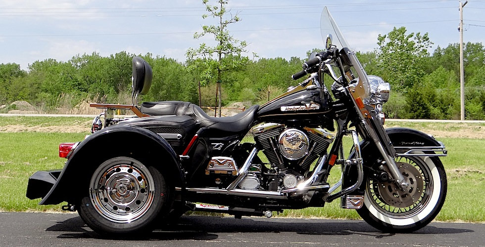 Harley-Davidson Road King Black