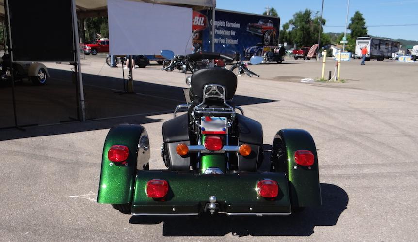 Harley-Davidson Road King - Voyager Classic Motorcycle Trike Kit
