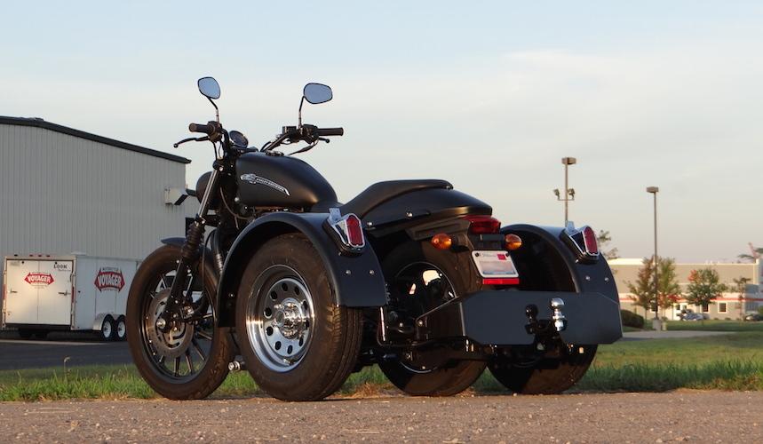 Harley-Davidson Street 750 - Voyager Standard Motorcycle Trike Kit