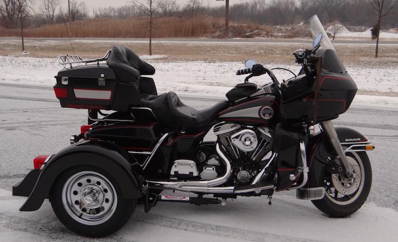 Harley-Davidson Road Glide - Voyager Classic Motorcycle Trike Kit