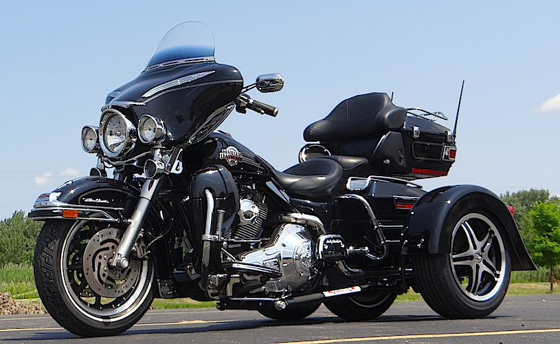 H-D Ultra Classic - Voyager Classic Motorcycle Trike Kit