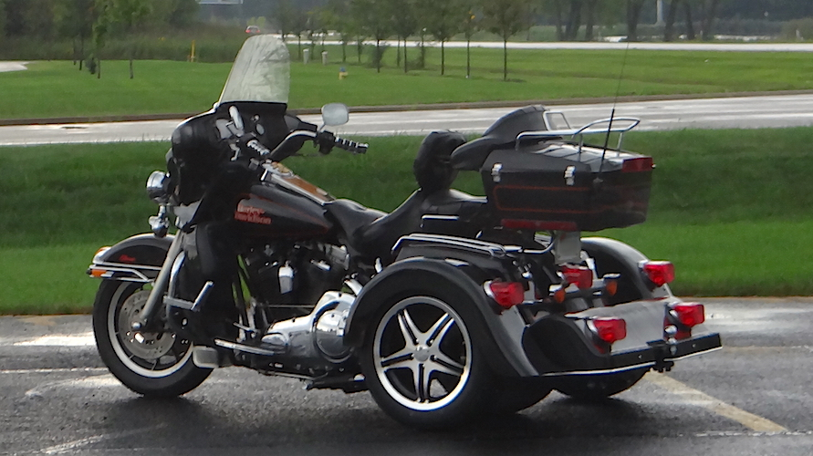 Harley-Davidson Ultra Classic - Voyager Classic Motorcycle Trike Kit