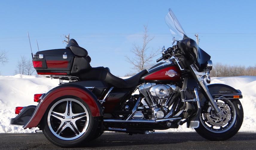 Harley-Davidson Ultra Classic - Voyager Classic Motorcycle Trike Kit