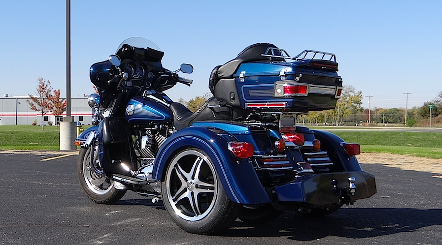 H-D Ultra Classic - Voyager Custom Motorcycle Trike Kit