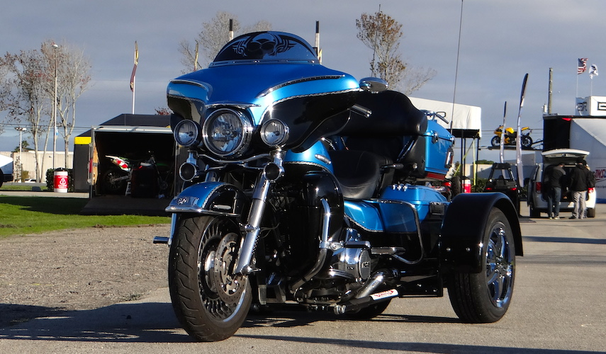 Harley-Davidson Ultra Classic - Voyager Ultra Motorcycle Trike Kit