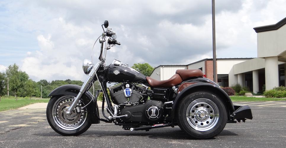 Harley-Davidson Dyna Wide Glide - Voyager Standard Trike Kit 3