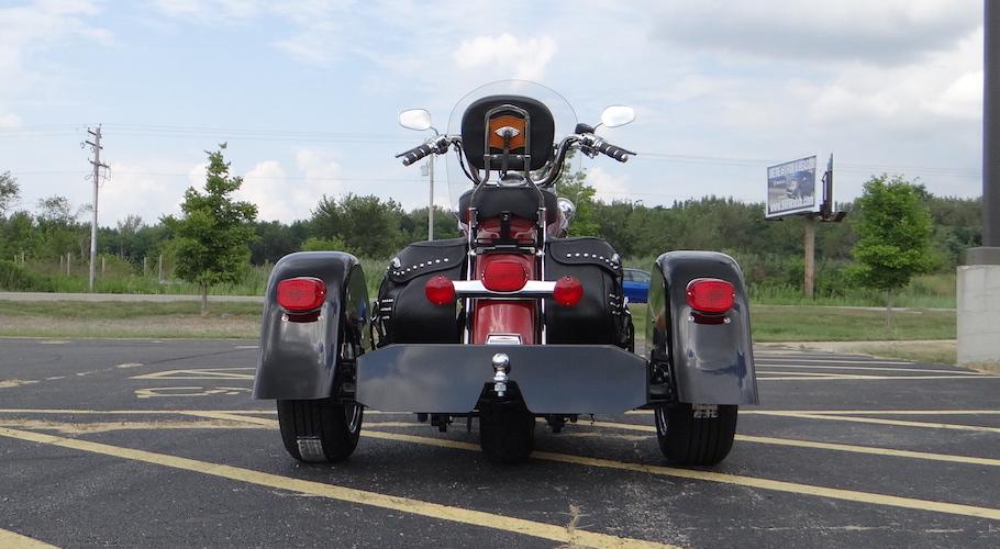 Harley-Davidson Heritage Softail - Voyager Custom Motorcycle Trike Kit