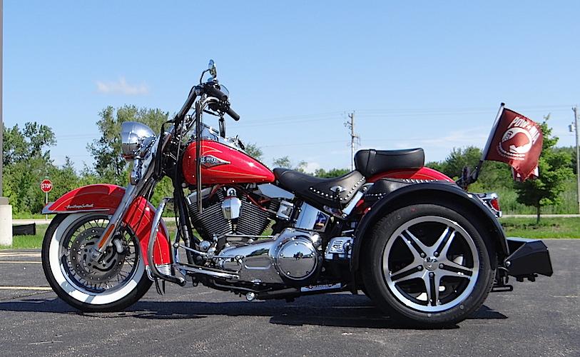 Harley-Davidson Heritage Softail - Voyager Standard Trike Kit