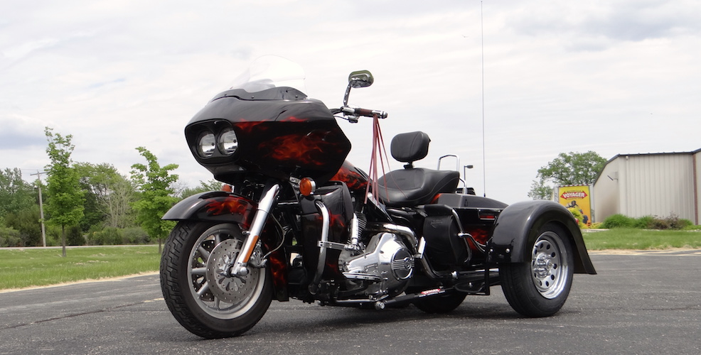 Harley-Davidson Road Glide - Voyager Custom Trike Kit 2