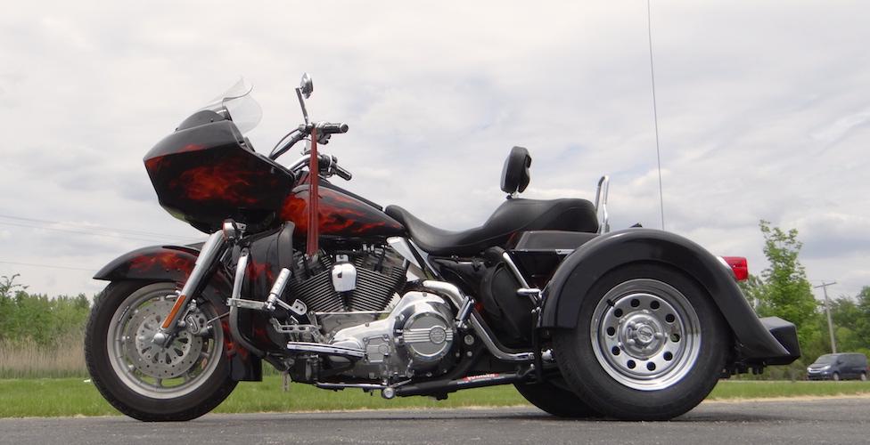 Harley-Davidson Road Glide - Voyager Custom Trike Kit 3