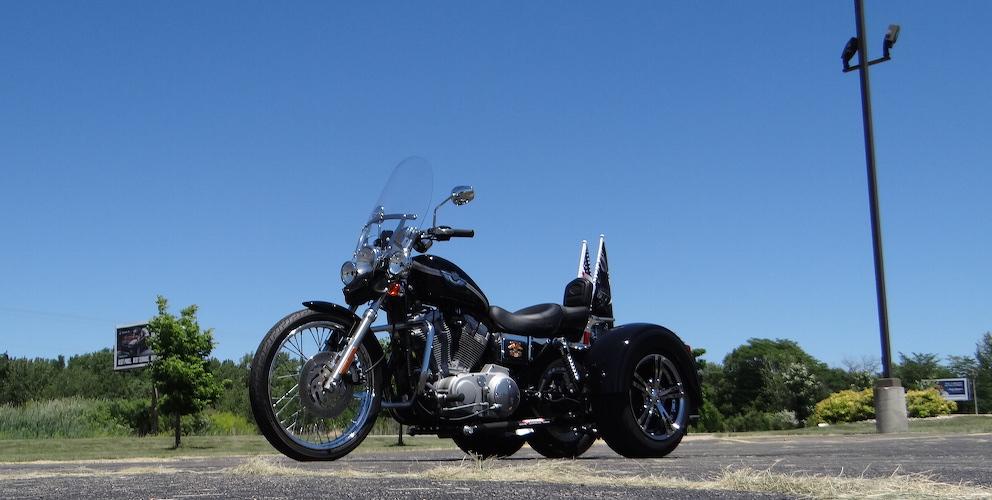 Harley-Davidson Sportster 883 - Voyager Classic Trike Kit 1
