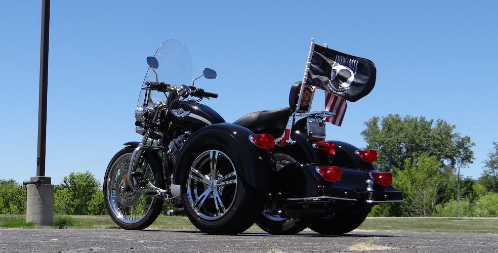 Harley-Davidson Sportster 883 - Voyager Classic Trike Kit 3