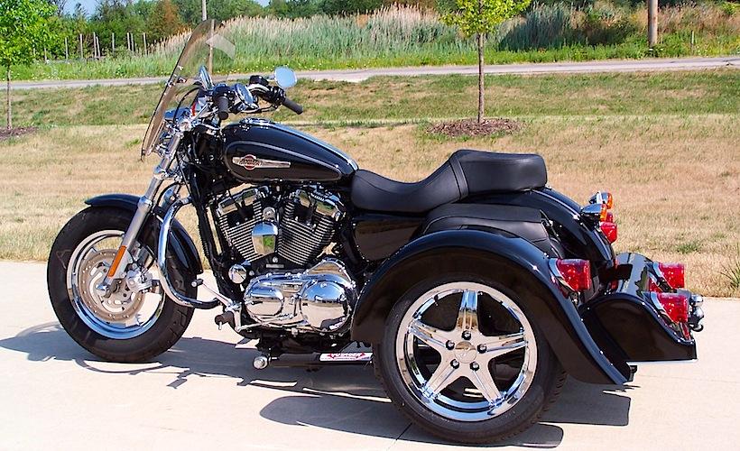 Harley-Davidson Sportster - Voyager Classic Motorcycle Trike Kit