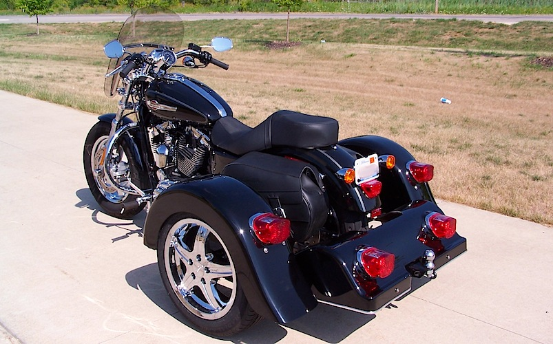 Harley-Davidson Sportster - Voyager Classic Motorcycle Trike Kit