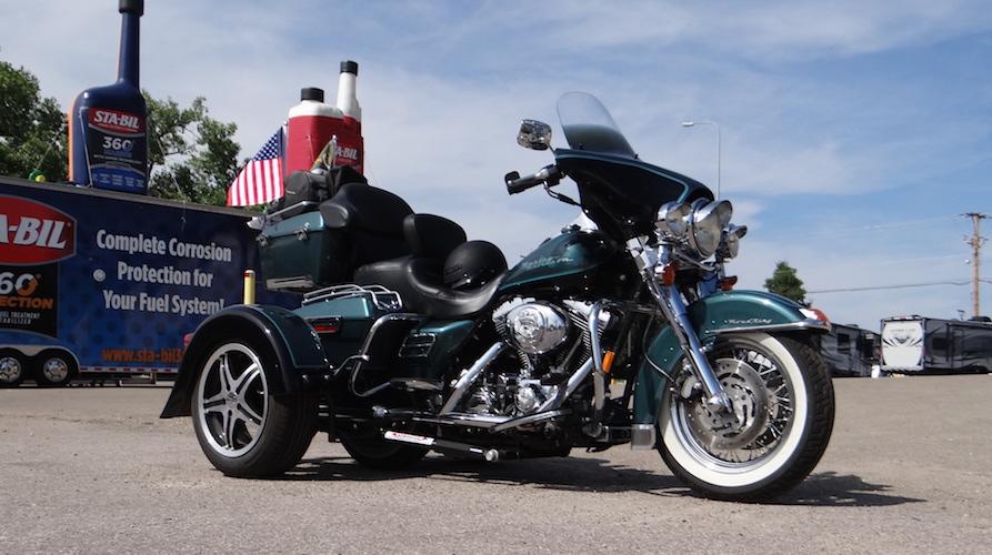 Harley-Davidson Ultra Classic - Voyager Custom Motorcycle Trike Kit