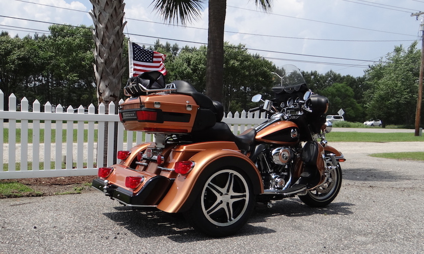 Harley-Davidson Ultra Classic - Voyager Classic Trike Kit