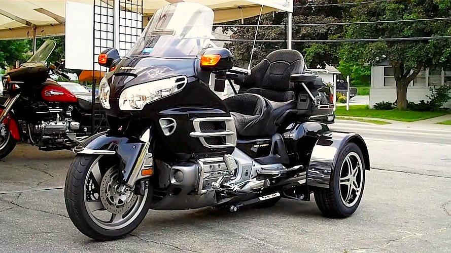 Honda GL 1800 - Voyager Standard Motorcycle Trike Kit