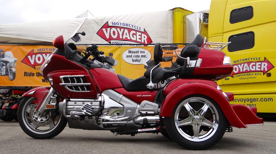 Honda GL 1800 - Voyager Classic Motorcycle Trike Kit