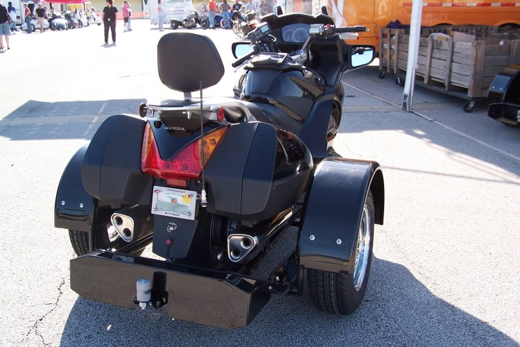 Honda ST 1300 with Voyager Trike Kit