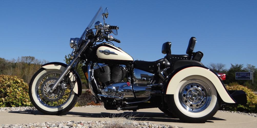 Honda Shadow ACE 1100 - Voyager Custom Motorcycle Trike Kit