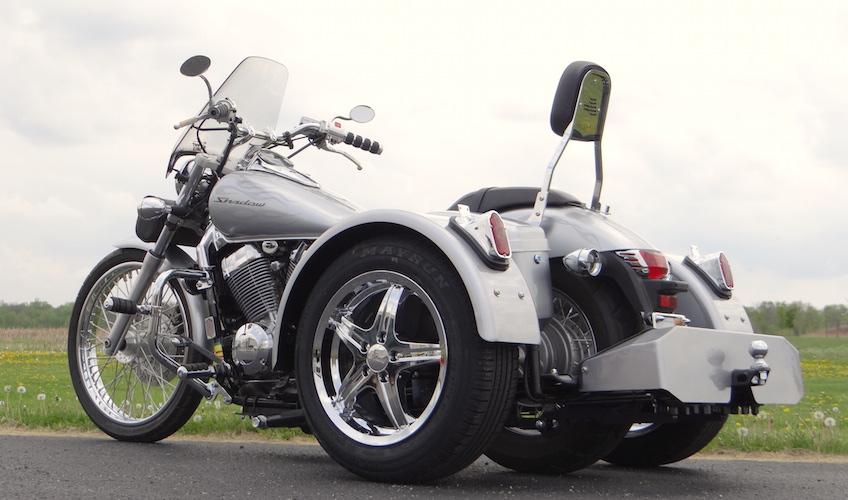 Honda Shadow Spirit 750 - Voyager Standard Trike Kit