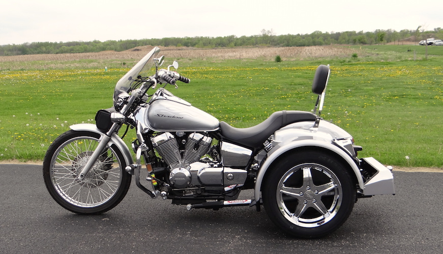 Honda Shadow Spirit 750 - Voyager Standard Trike Kit