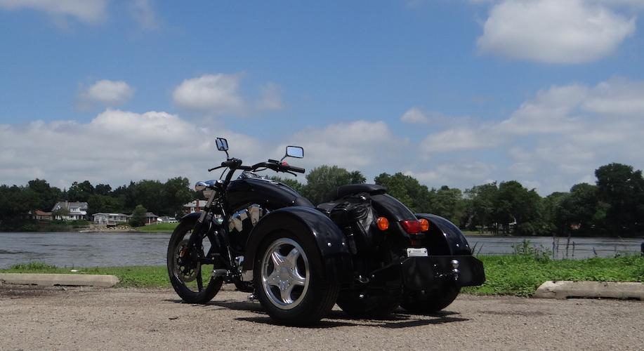 Honda VT1300CS Sabre - Voyager Custom Trike Kit