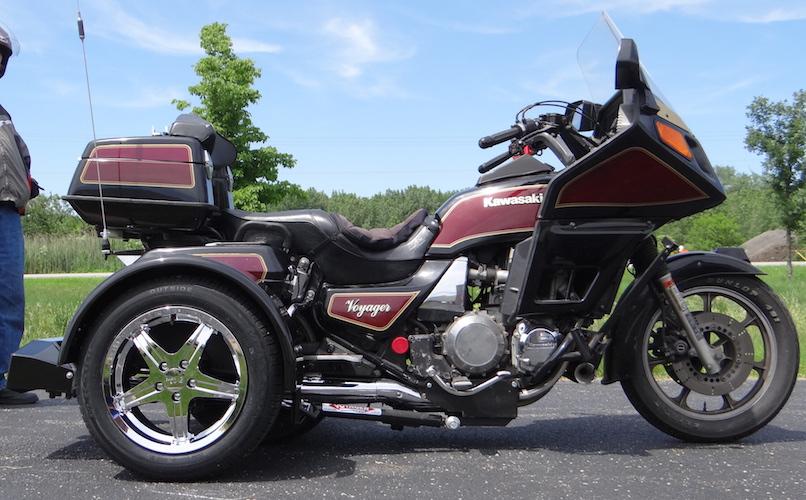 Kawasaki Voyager 1300 - Voyager Standard Trike Kit