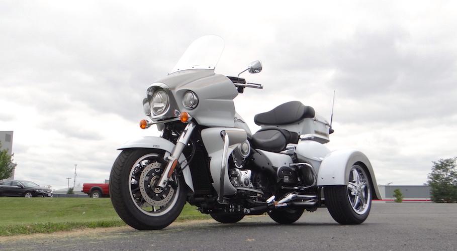 Kawasaki Vulcan Voyager 1700 - Voyager Classic Motorcycle Trike Kit