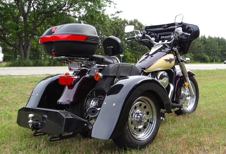Kawasaki Vulcan 900 - Voyager Custom Trike Kit