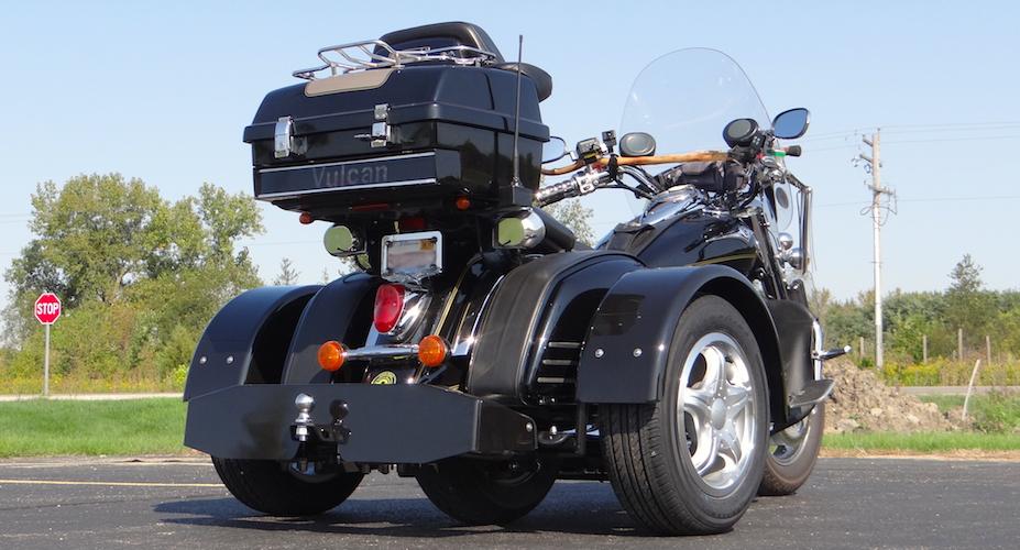 Kawasaki Vulcan Nomad 1600 - Voyager Standard Motorcycle Trike Kit