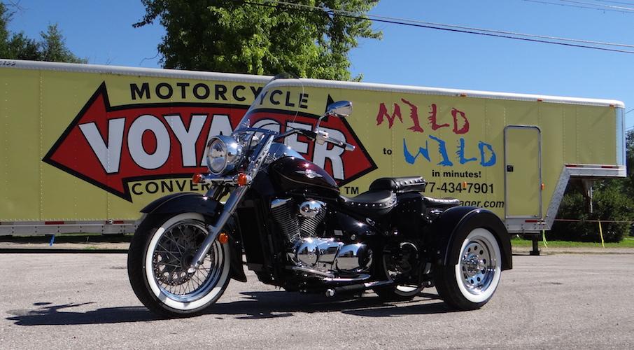 Suzuki Boulevard C50T - Voyager Custom Motorcycle Trike Kit