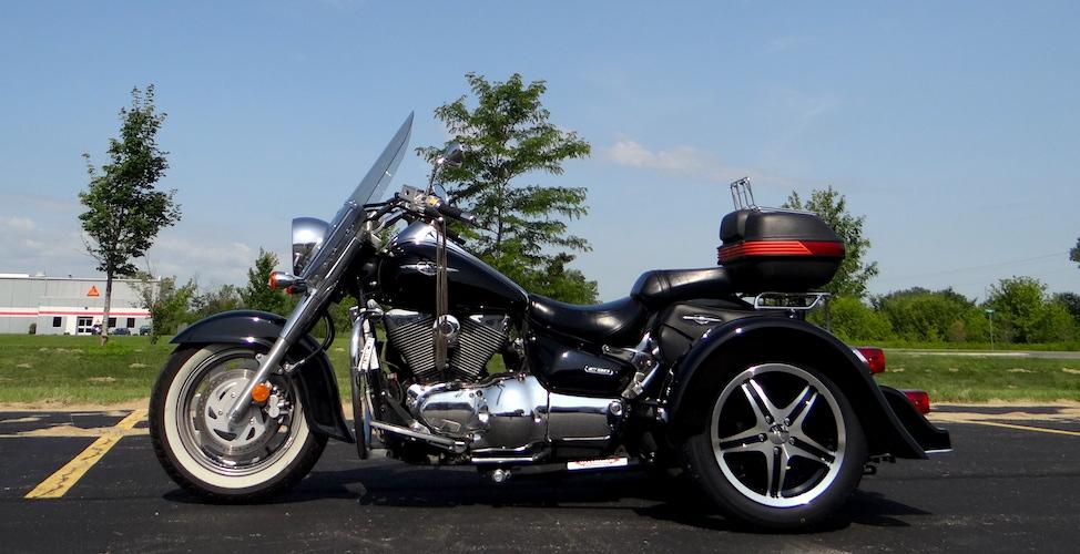 Suzuki Boulevard C90 - Voyager Classic Motorcycle Trike Kit