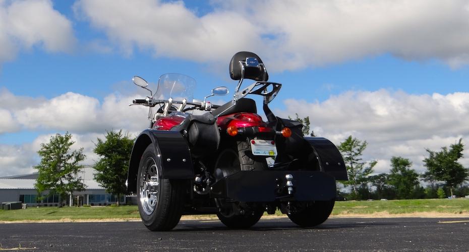 Suzuki Boulevard M90 - Voyager Standard Motorcycle Trike Kit
