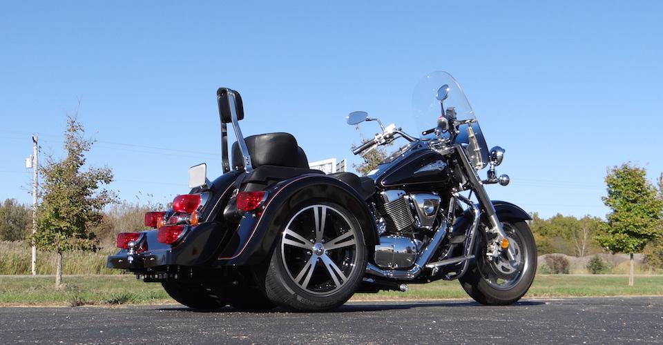 Suzuki Intruder 1500 - Voyager Classic Motorcycle Trike Kit