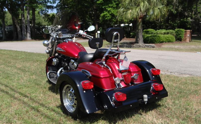 Yamaha Road Star 1600 - Voyager Classic Trike Kit