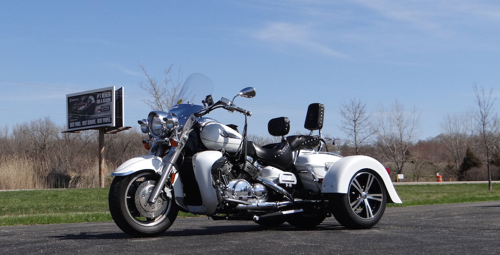 Yamaha Royal Star Tour Deluxe 1300 - Voyager Custom Trike Kit 1