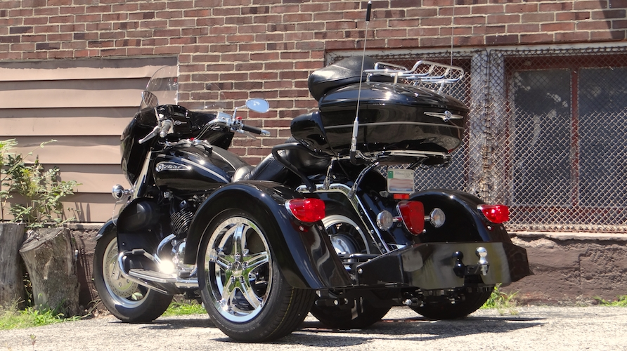 Yamaha Royal Star Venture - Voyager Custom Motorcycle Trike Kit