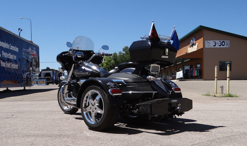 Yamaha Stratoliner - Voyager Standard Motorcycle Trike Kit (with aftermarket lights)