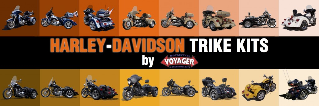 Harley-Davidson Motorcycle Trike Conversions by Voyager